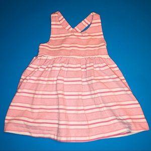 Baby gap cross back dress